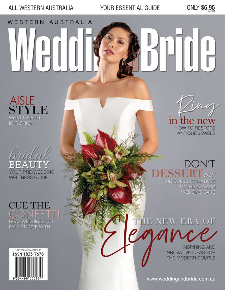 Western Australia Wedding & Bride magazine Perth