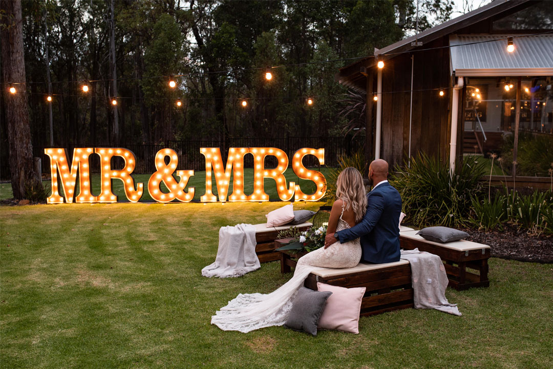 Amaroo Resort & Spa unique Perth wedding venue