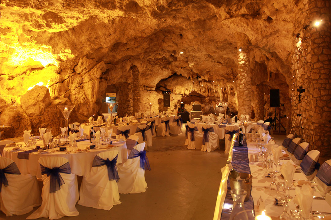 Perth cabaret cave only wedding venue unique