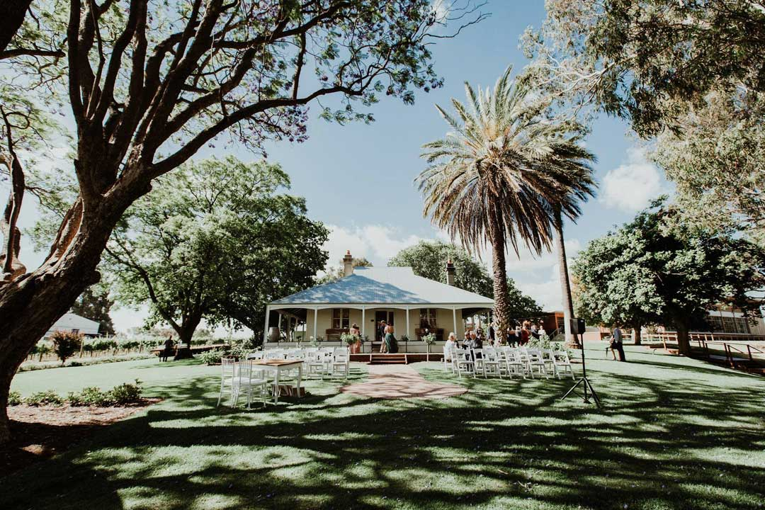 Mandoon Estate Perth wedding venue vineyard