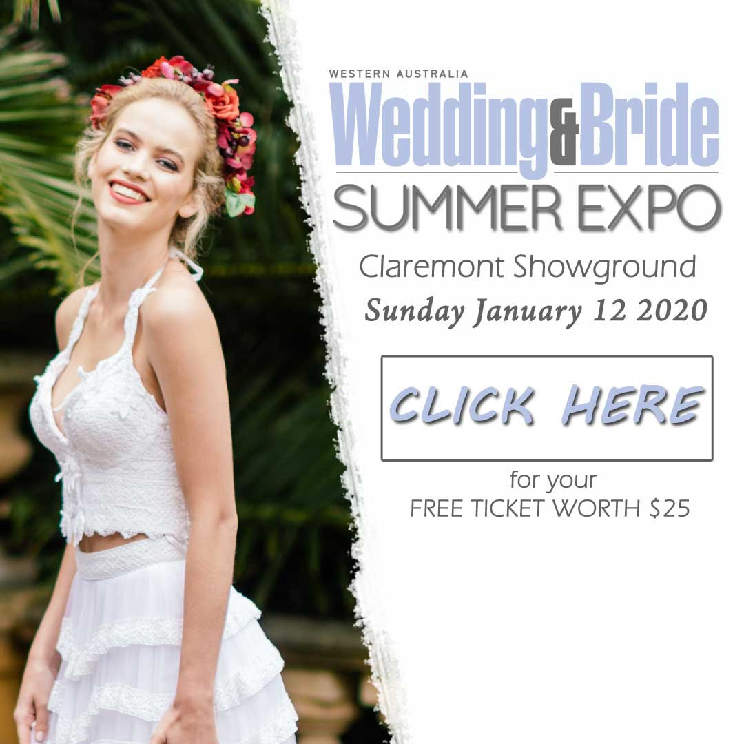 Perth 2020 January wedding expo convention centre WA