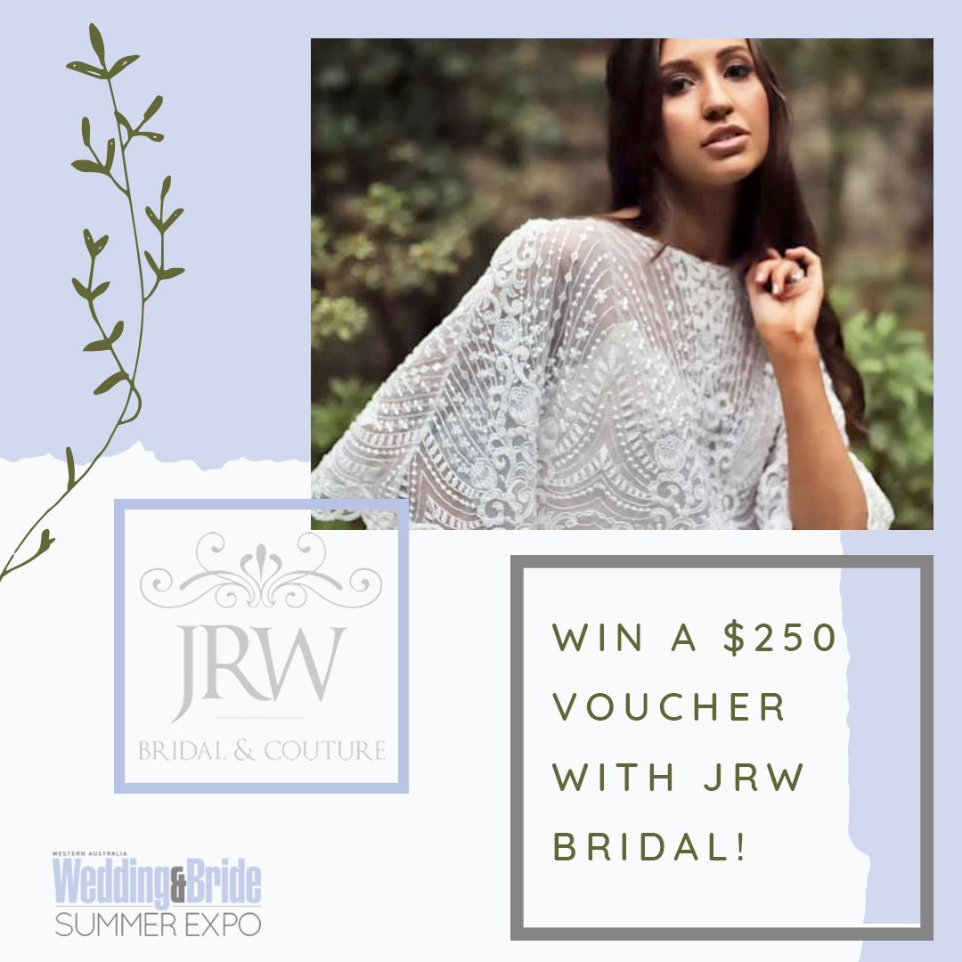 Perth Bridal Expo Competition JRW Bridal