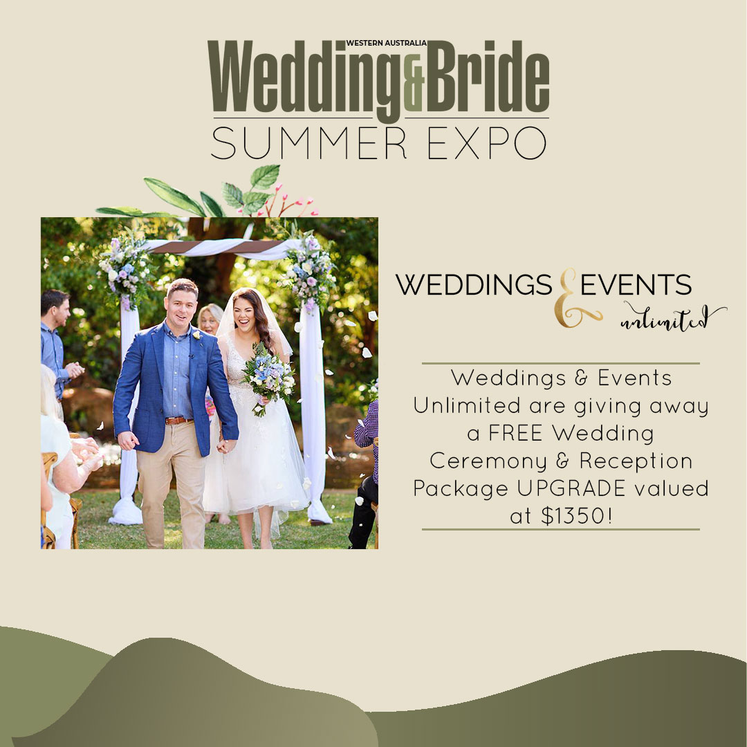 Wedding & Bride Perth Expo Competitions - Jacqui Thompson - Wedding & Events Unlimited